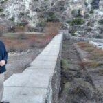 Ongarato supervisó trabajos de limpieza y mantenimiento del cauce del arroyo Esquel